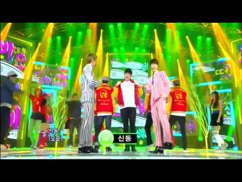 HD 111225 - Donghae & Eunhyuk feat.Amber (fx) & Shindong (Super Junior) - Oppa, Oppa.mp4