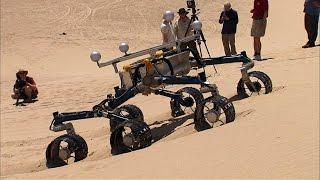 Testing the Curiosity Rover on Earth