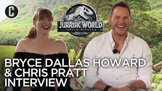 Chris Pratt & Bryce Dallas Howard on Why They Love the Jurassic World: Fallen Kingdom Ending