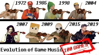 100 GAMES - The Evolution of Game Music   1972-2019