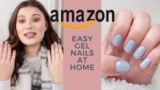 EASY AND AFFORDABLE AMAZON GEL NAILS AT HOME