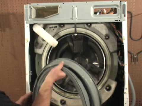 Ge Front Load Washer Door Gasket Replacement Youtube