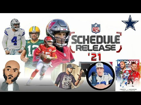 Dallas Cowboys 2021 NFL Schedule Release and Review