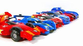 MiniForce X BoltBot Tobot V Speed Athlon HelloCarbot Racing Car Toy Transformation