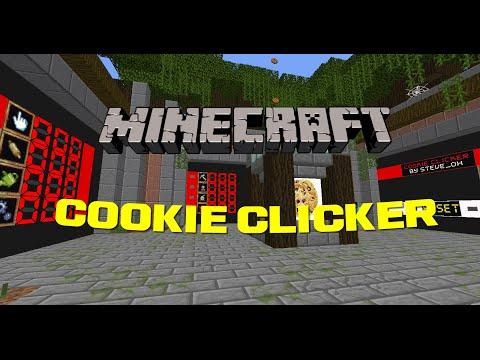 Minecraft Cookie Clicker