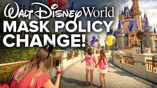 DISNEY WORLD MASK POLICY CHANGE! - Disney News