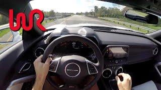 2016 Chevrolet Camaro SS (6MT) - WR TV POV Test Drive