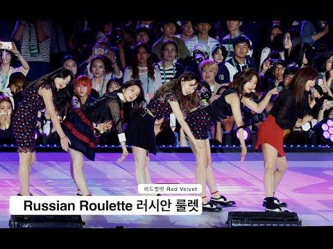 레드벨벳 Red Velvet[4K 직캠]Russian Roulette 러시안 룰렛@Rock Music
