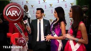 Candidatas a Miss Universo en un evento de bienvenida en Miami | Al Rojo Vivo | Telemundo