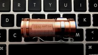 Olight S Mini Cu Raw Copper