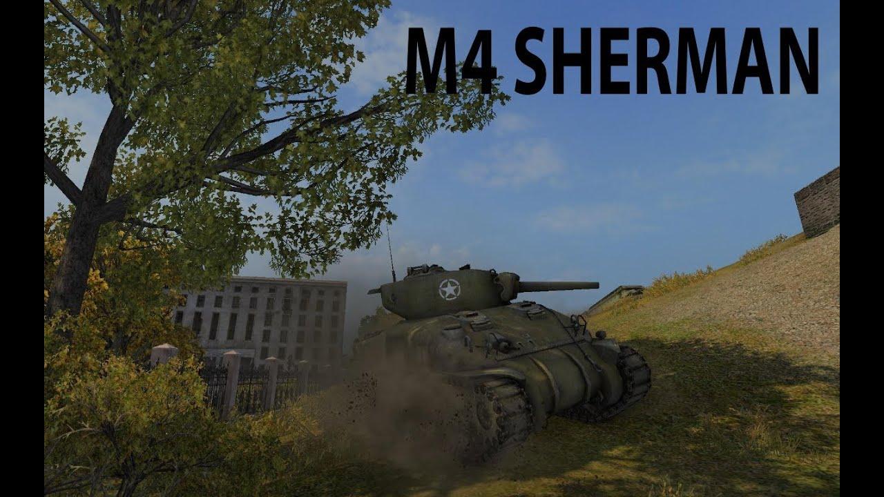 M4 Sherman - продолжаем веселье