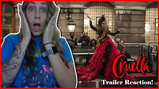 Disney's Cruella Official Trailer 2 Reaction (Disney+ Premier Access)