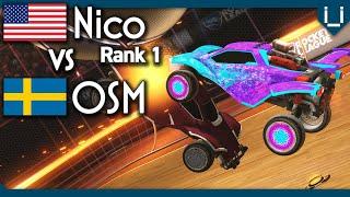 OSM vs Nico (Rank 1 Hoops) | Hoops 1v1