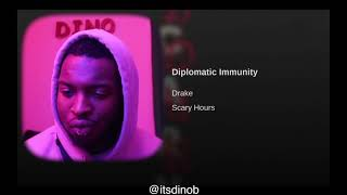 Drake - Diplomatic Immunity (Official Audio) | Scary Hours | REACTION