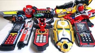 【Super Sentai DX Morphers 1/4】Go-Onger - Kyuranger (2008-2017) wotafa's review