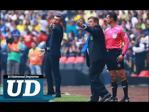 Conferencia de prensa Miguel Herrera y Pedro Caixinha tras el pase del América a las semifinales