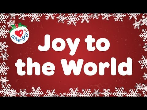 Joy to the World with Lyrics | Christmas Carol & Song | Children Love to Sing