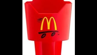 McDonald's Japan Introduces French Fry Holders for the Car