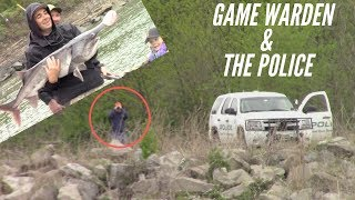 I Went Fishing With ARMS FAMILY HOMESTEAD & Got The Game Warden & Cops Called On Us!