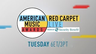 American Music Awards Red Carpet Live