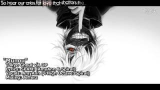 """[TYER] English Tokyo Ghoul √A OP - """"Munou"""" [feat. AmyAnn]"""