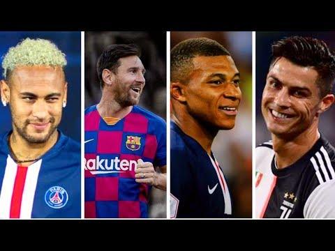 Ronaldo Old Town Road VS Messi Señorita VS Neymar lalala VS Mbappe Taki Taki