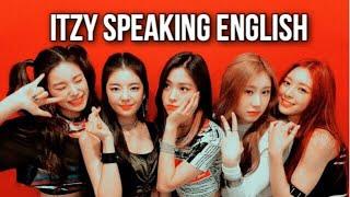 ITZY speaking English