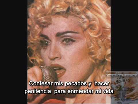 +++   MADONNA - ACT OF CONTRITION   +++  subtitulado al español