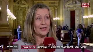 Sénat 360 : je réagis à la polémique sur les dons pour Notre-Dame de Paris