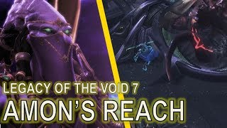 Starcraft II: Legacy of the Void Mission 7 - Amon's Reach [ALL ACHIEVEMENTS! 3:31 SPEEDRUN!]