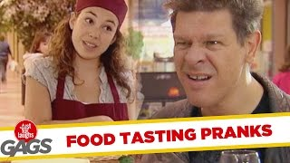 Food Tasting Pranks - Best of Just For Laughs Gags