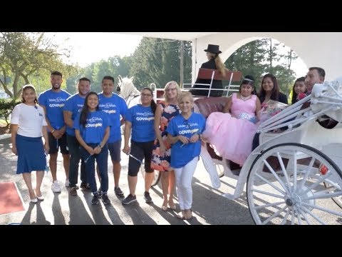 15-year-old Sharlin from Andover, New Jersey, experienced a special, cultural milestone in her life – a Quinceañera party in her honor. Sharlin's wish, hosted at Perona Farms in Andover, was granted in partnership with Goya Foods and Make-A-Wish New Jersey. Through the long-established Goya Gives program, Make-A-Wish and Goya joined together to create an unforgettable experience for Sharlin and her family.