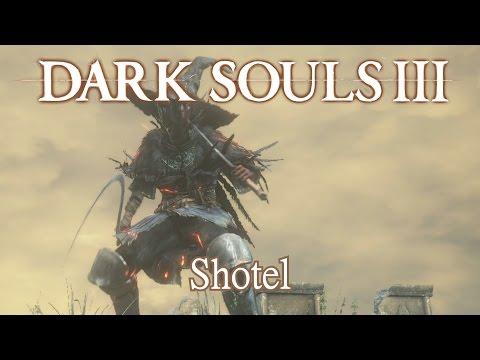 Shotel Moveset (Dark Souls 3)