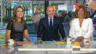 Matt Lauer's Last Day on Today Show 11/28/2017
