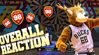 Stretch Big Demigod finally got mascots at 98 overall on NBA 2K19! Pure Stretch 4 build NBA 2K19