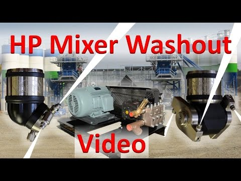 High Pressure Mixer Washout with Sequencing
