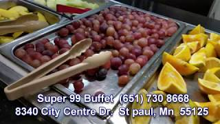 HMONG TV:  Super 99 Bufeet  Best  the brest food in MN