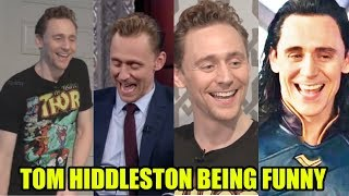 Tom Hiddleston/ Loki Funniest Edit and Interview Moments - Try Not To laugh