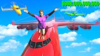Collecting RARE Billionaire SUPER JETS In GTA 5.. (Mods)