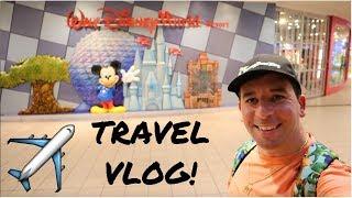TRAVELING TO WALT DISNEY WORLD! | October 2018 Vlog
