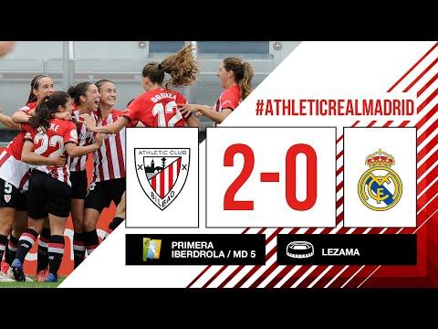 ⚽ HIGHLIGHTS I Athletic Club 2-0 Real Madrid I MD5 Primera Iberdrola 2021-22