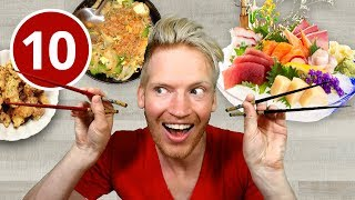 10 Bizarre Foods in Tokyo, Japan (YOU MUST TRY!)