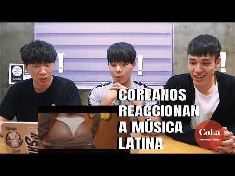 [Coreanas Latinas] Coreanos escuchan REGGAETON por primera vez y se quedan TRAUMADOS