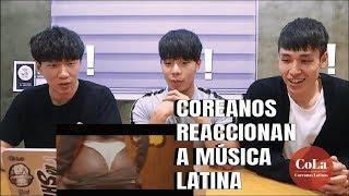 Coreanos escuchan REGGAETON por primera vez y se quedan TRAUMADOS [Coreanas Latinas]