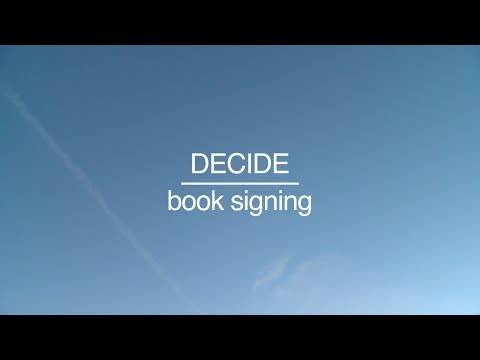 Steve McClatchy | DECIDE Book Signing