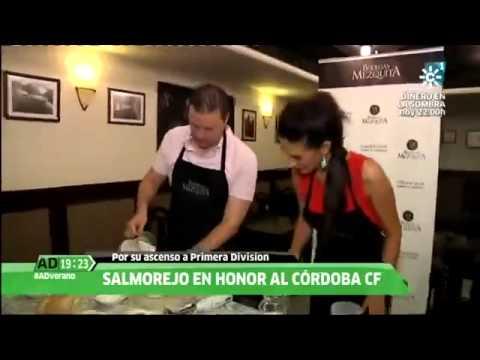 I Concurso de #SalmorejoBlanquiverde en Bodegas Mezquita (Reportaje Andalucía Directo)