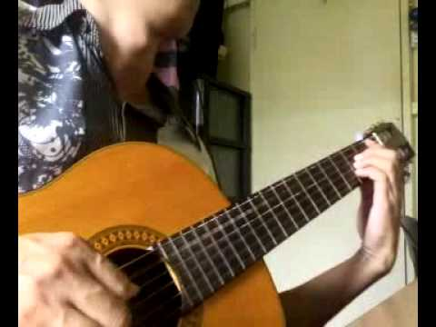 画沙 Hua Sha - 周杰伦 袁咏琳 Jay Chou & Cindy Yen - Guitar Solo by Handoyomia