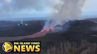 Hawaii Volcano Eruption Update - Thursday Morning (Aug. 2, 2018)