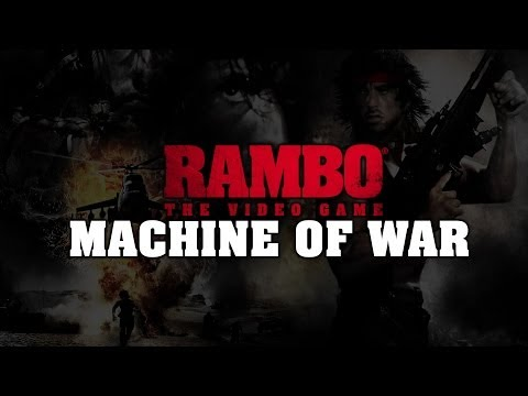 RAMBO ® THE VIDEO GAME - Machine Of War - EU (PEGI)