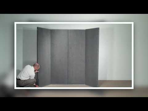 VersiFold Acoustical Room Divider Demonstration